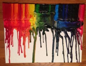Crayon Art (Dollar Tree)